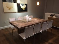 West Elm Reclaimed Pine Dining Table Charlotte, 28202