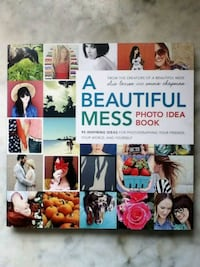 Preowned: A beautiful mess: photo idea book  Very good condition soft