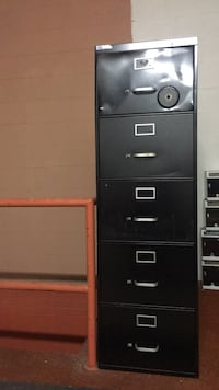 black metal 4-drawer filing cabinet Temple Hills, 20748