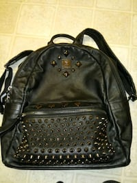 MCM leather studded backpack with silver studs Gaithersburg, 20878