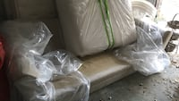 Big micro fiber couch with all cushions Broomall