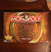 Lord Of The Rings Monopoly Trilogy Edition  Gonzales, 70737