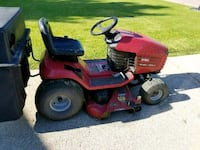 red and black Toro ride on mower Delhi charter Township, 48842