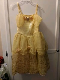 Disney Belle costume dress size 7/8 Los Angeles, 91311