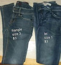 blue denim straight cut jeans 478 mi