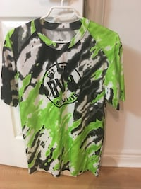 green and black camouflage pullover hoodie 馬卡姆, L3R