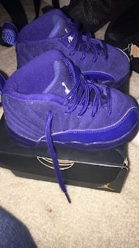 Retro Jordan 12's size 6c infant 21 km