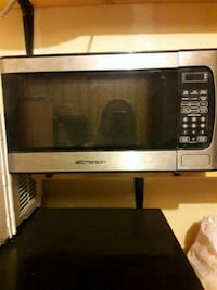 silver and black Emerson microwave oven Colorado Springs, 80951
