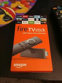 Amazon Fire TV Stick with Alexa Voice Remote box Leander, 78641