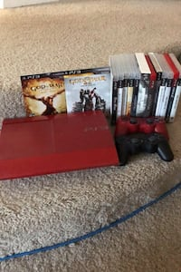 Play Station 3 w/ 2 controllers all games included.