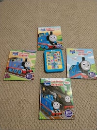 Thomas & Friends me reader and 4 books Virginia Beach, 23464