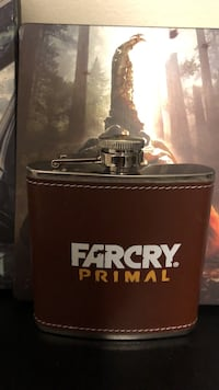 red and silver Farcry Primal hip flask Brampton, L6Y
