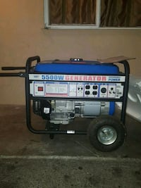blue and black portable generator Redwood City, 94063