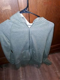 Olive green zip-up hoodie Gold Hill, 97525