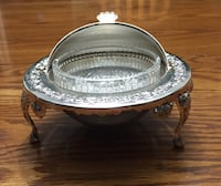 Silver Plated Butter/Jam Dish