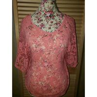Used pink lace  top  Chicago, 60651