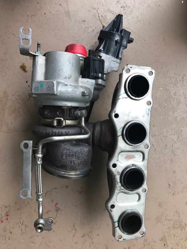 BMW N20 TURBO (electronic wastegate actuator not included)