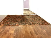 Rug shaggy carpet  Mississauga, L5C