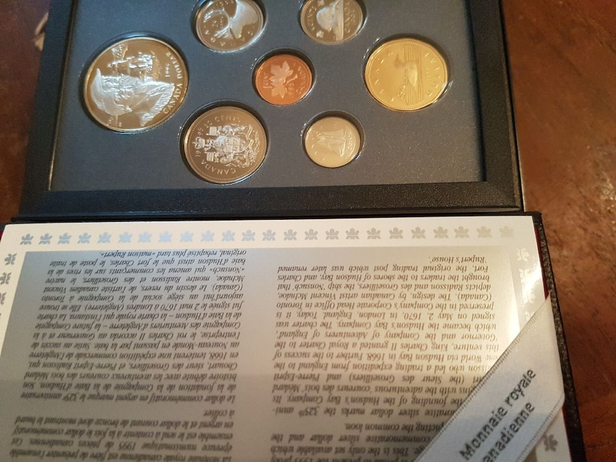 1995 proof set from RCM - Pickering