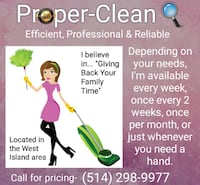 House cleaning Dorval