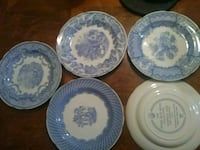 Spode blue room collection plates Cuyahoga Falls, 44224