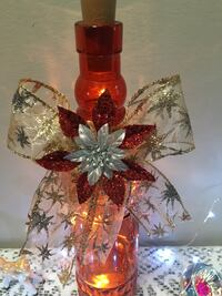 New hand decorated bottle light Pointe-Claire, H9R 3Z8