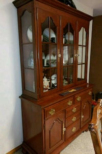 Custom made framed glass display china cabinet East Stroudsburg, 18302