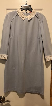 gray long-sleeved dress Bethesda, 20817