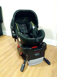 Baby car seat. Safety modal.