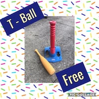 FREE Toddler T-Ball Stand Alexandria, 22310