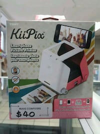 KiiPix - Smart phone picture printer - Brand New Sealed