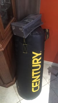 Black and red century heavy bag