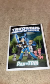 trayautus and the enchanted crystill signed by dantdm