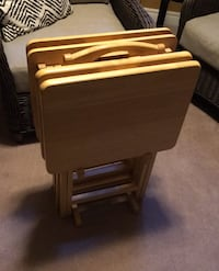 Tv table set, solid wood NEW PRICE