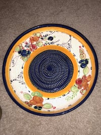 Multi colored Hand painted bowl