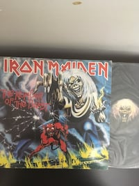 IRON MAIDEN - The Number Of The Beast Original Press -Mint condition Mississauga, L4X