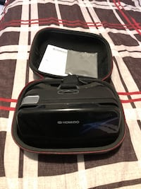 black Homido VR headset with bag Torbay, A1K