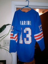 blue and white NFL jersey Marrero, 70072