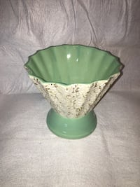 green and white ceramic bowl Frederick