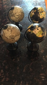Set of 4 antique globes  Arlington, 22204