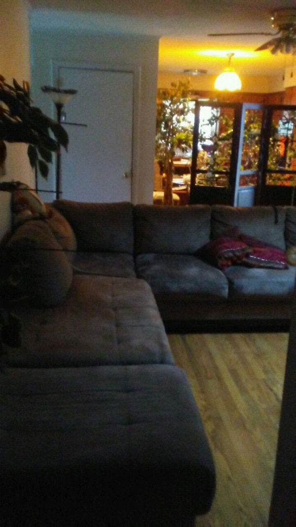 Beautiful l shape couch