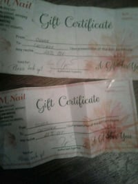 25%off gift certificates Winnipeg