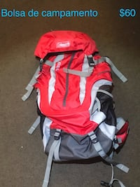 red and white hiking backpack Toronto, M6L 1B1
