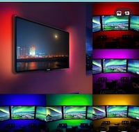 LED strip power supply 1m Tv background lighting good for decoration.  Bethesda, 20814