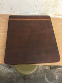 brown wooden chopping board made with end cut only  Langley, V3A