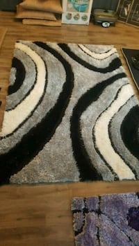 white, black, and gray area rug Chestermere, T1X 1S5