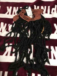 Pirates of Caribbean Jack Sparrows bandana and dread wig NEW Metairie, 70003
