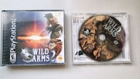 Wild Arms 1 and 2 for the Sony Playstation ps1 Oshawa, L1K 3C2
