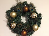 """Beautiful peacock pine wreath 16"""" I made this new Monroeville, 15146"""
