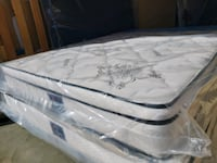 New Queen mattress pillowtop .Delivery 50 same day .Comfy Bamboo Edmonton, T5Z 2N8